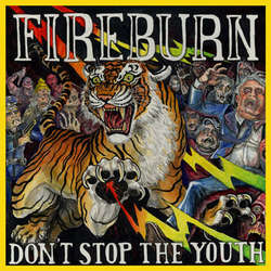 "FIREBURN ""Don't stop the youth"" 12"" (clear)"