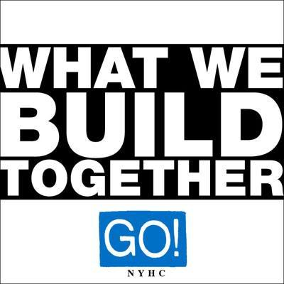 "GO! ""What we build together"" EP  (black)"