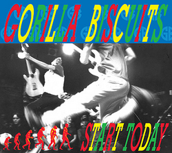 "GORILLA BISCUITS ""Start today"" CD"