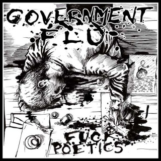 "GOVERNMENT FLU ""Fuck poetics"" EP  (green)"