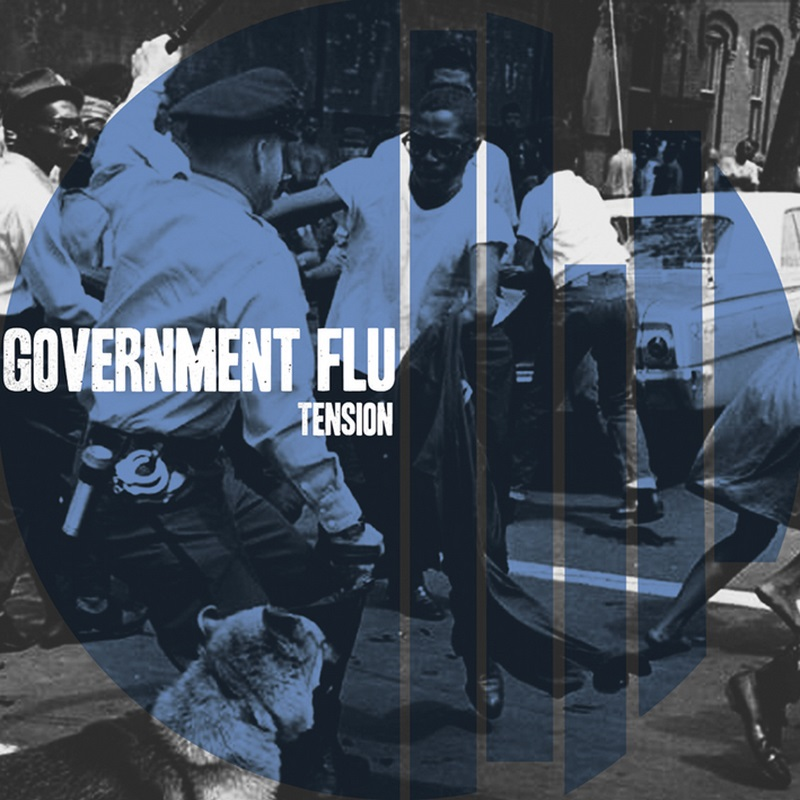 "GOVERNMENT FLU ""Tension\"" 12\"" (2nd press, black)"