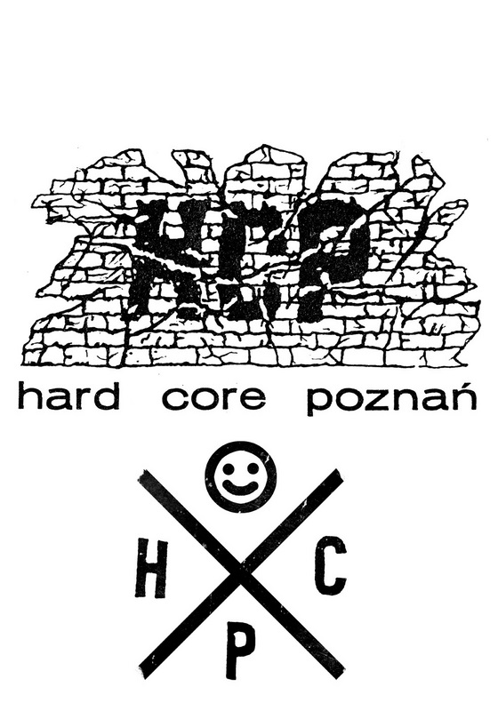 "H.C.P. ""Hard Core Poznań""  t-shirt"