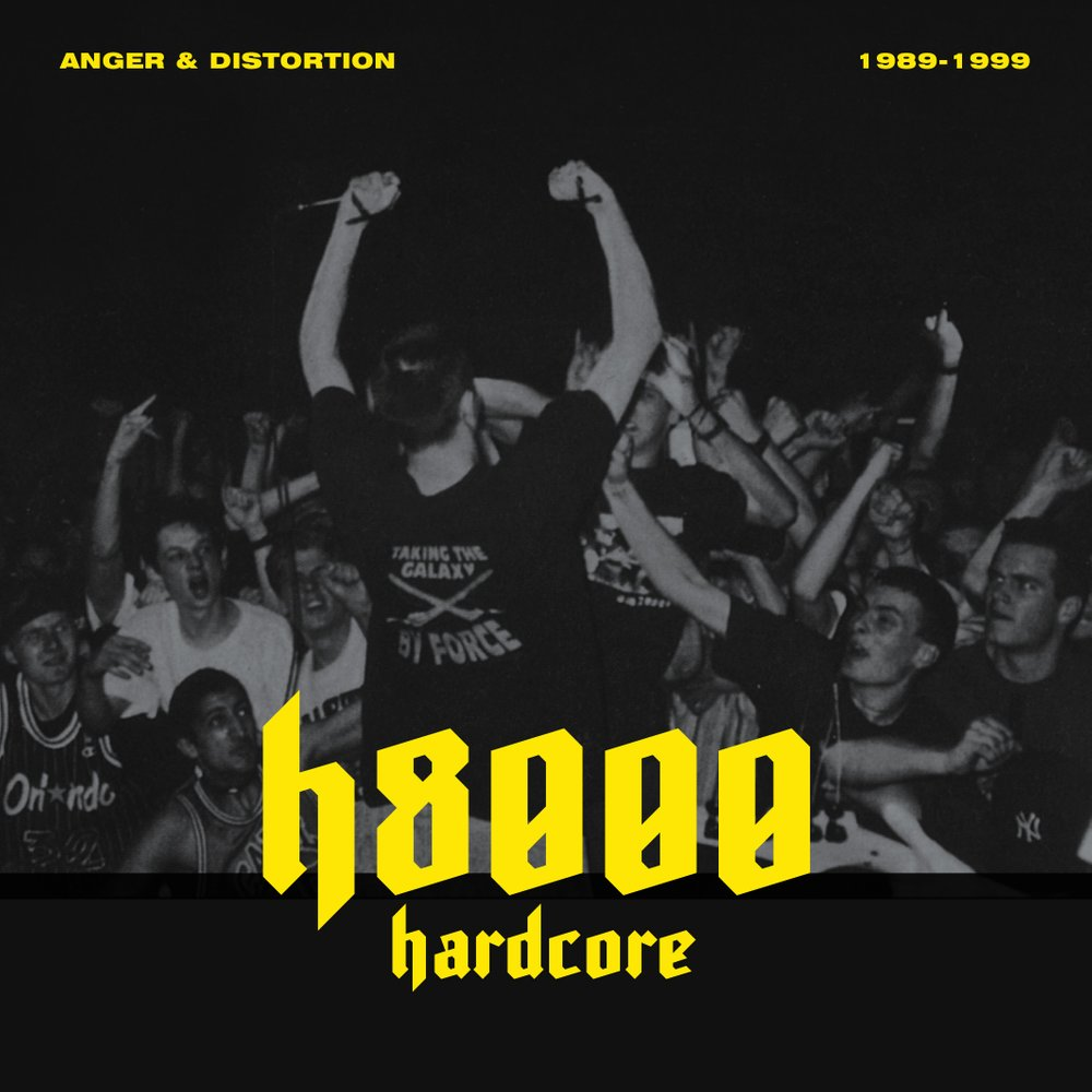 """H8000 HARDCORE – ANGER & DISTORTION 1989 1999"" DVD"