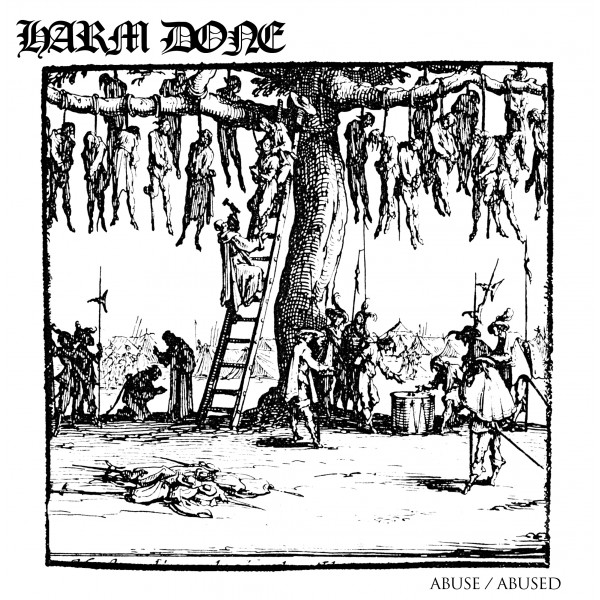 "HARM DONE ""Abuse/abused"" LP"