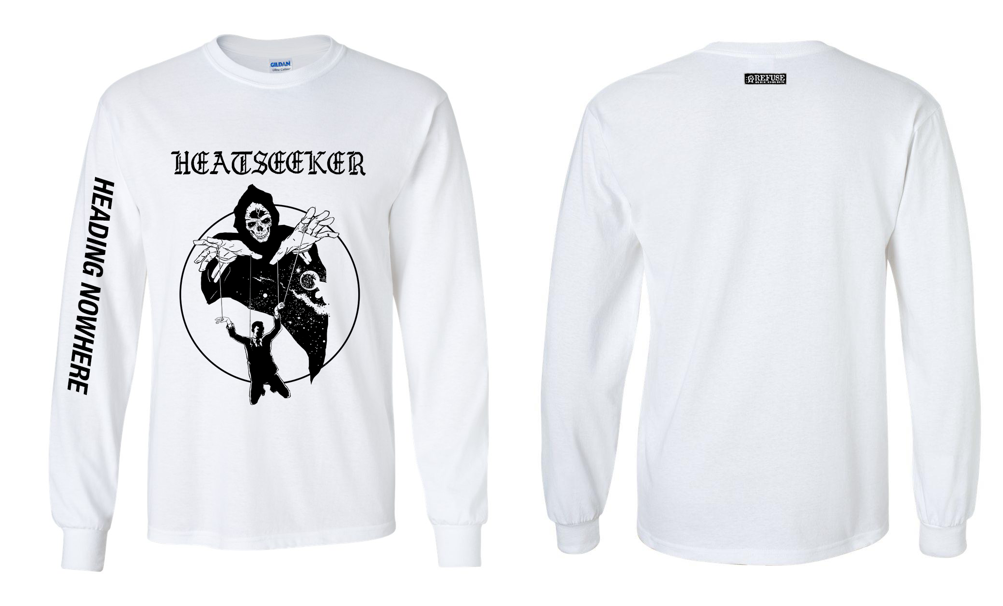 "HEATSEEKER ""Heading nowhere\""  long sleeve"