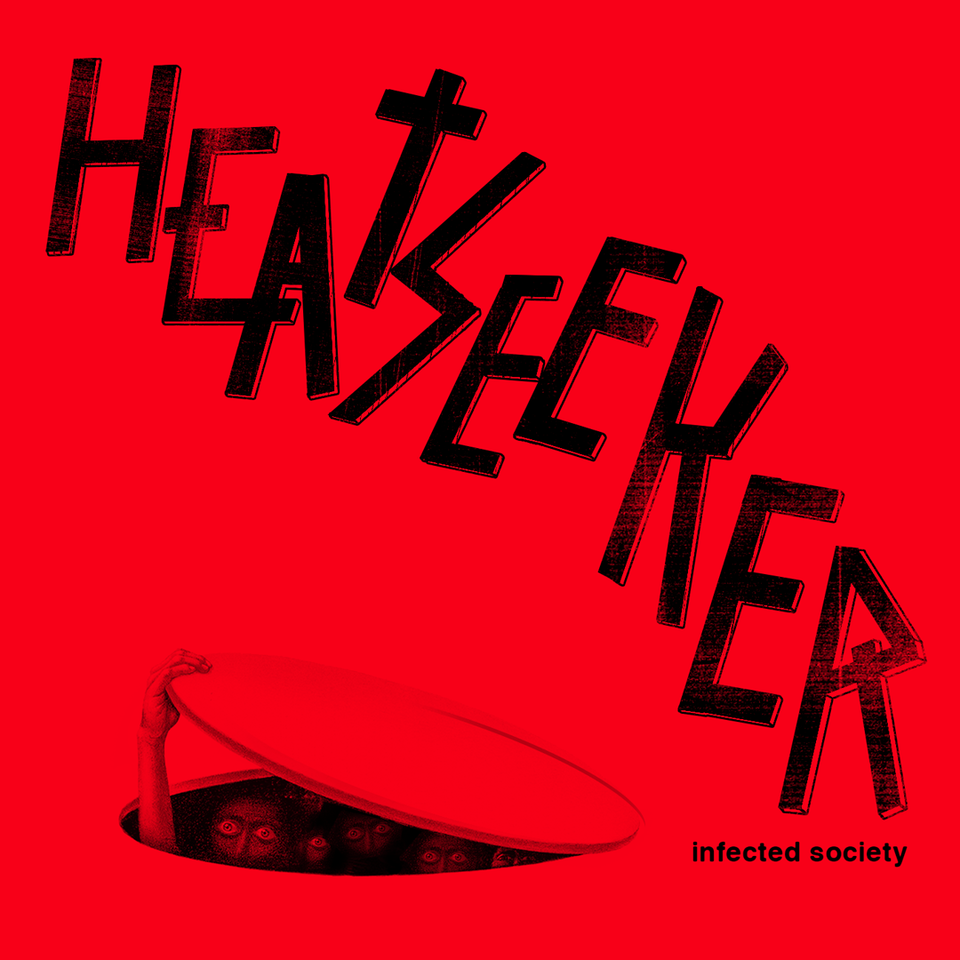 "HEATSEEKER ""Infected society"" 12"" /black/"