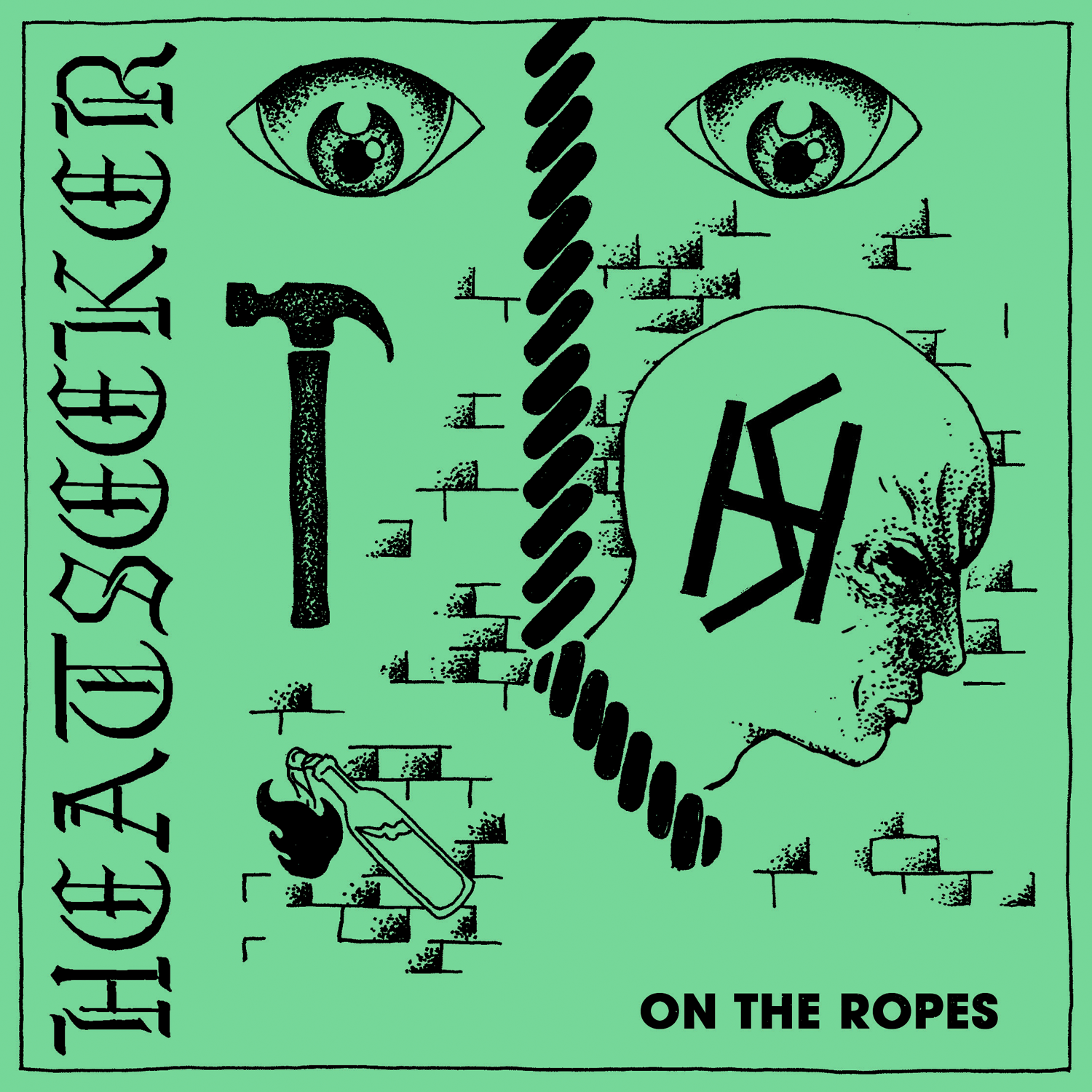 "HEATSEEKER ""On the ropes"" EP    (black)"