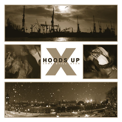 "HOODS UP ""Arms still open\"" mcd"
