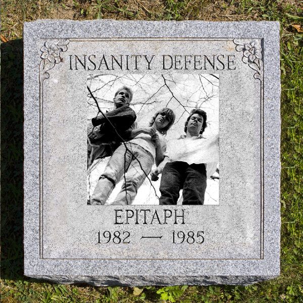 "INSANITY DEFENSE ""Epitaph 1982-1985"" CD+DVD"