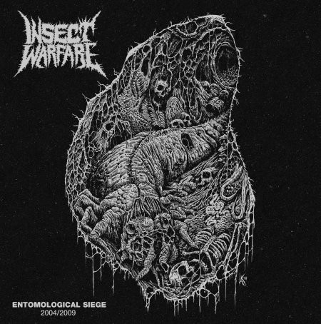 "INSECT WARFARE ""Entomological siege 2004/2009"" 3xLP+DVD"