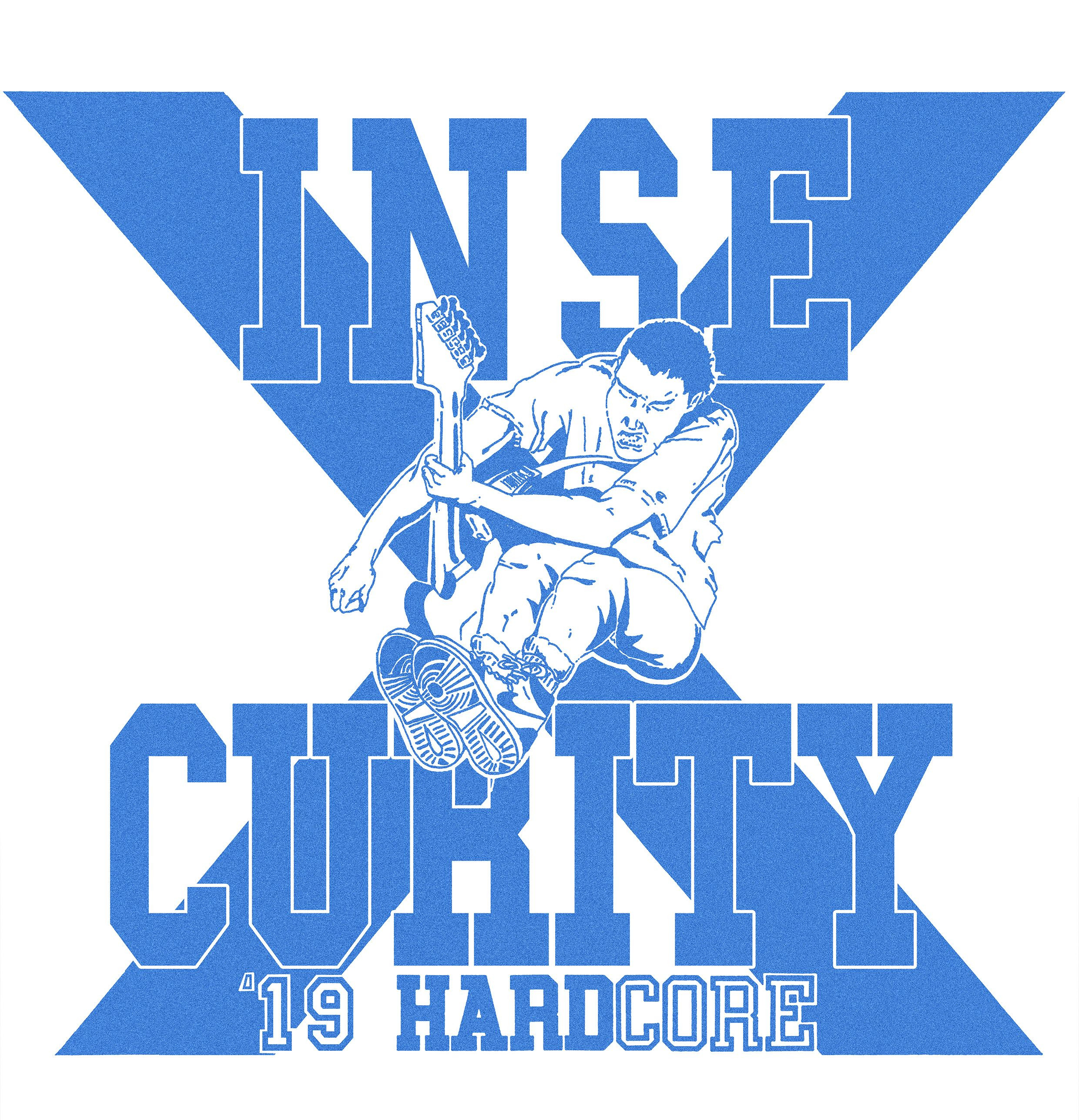 "INSECURITY ""Willpower"" 7""EP  (ltd blue)  PRE-ORDER"