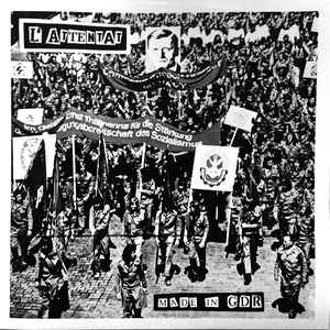 "L'ATTENTAT ""Made in GDR"" LP+EP"