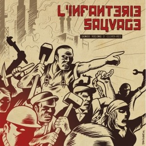 "L'INFANTERIE SAUVAGE ""Demos Volume 2 (1983-82)"" LP"