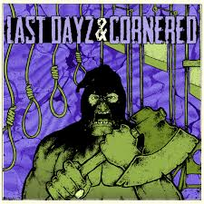 LAST DAYZ/CORNERED  split  EP (ltd.purple)