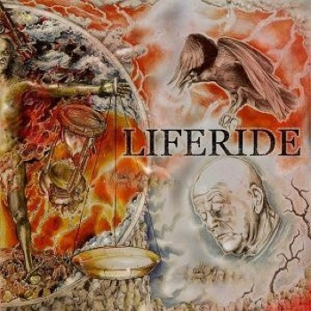 "LIFERIDE  ""Liferide"" LP"