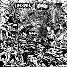 LIFESPITE/HOSTAGE split LP