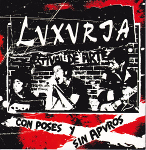 "LUXURIA ""Con poses y sin apuros"" EP"