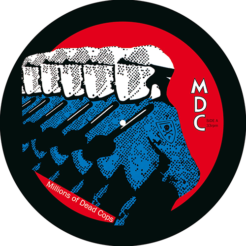 "M.D.C. ""Millions of Dead Cops"" picture-disc LP"