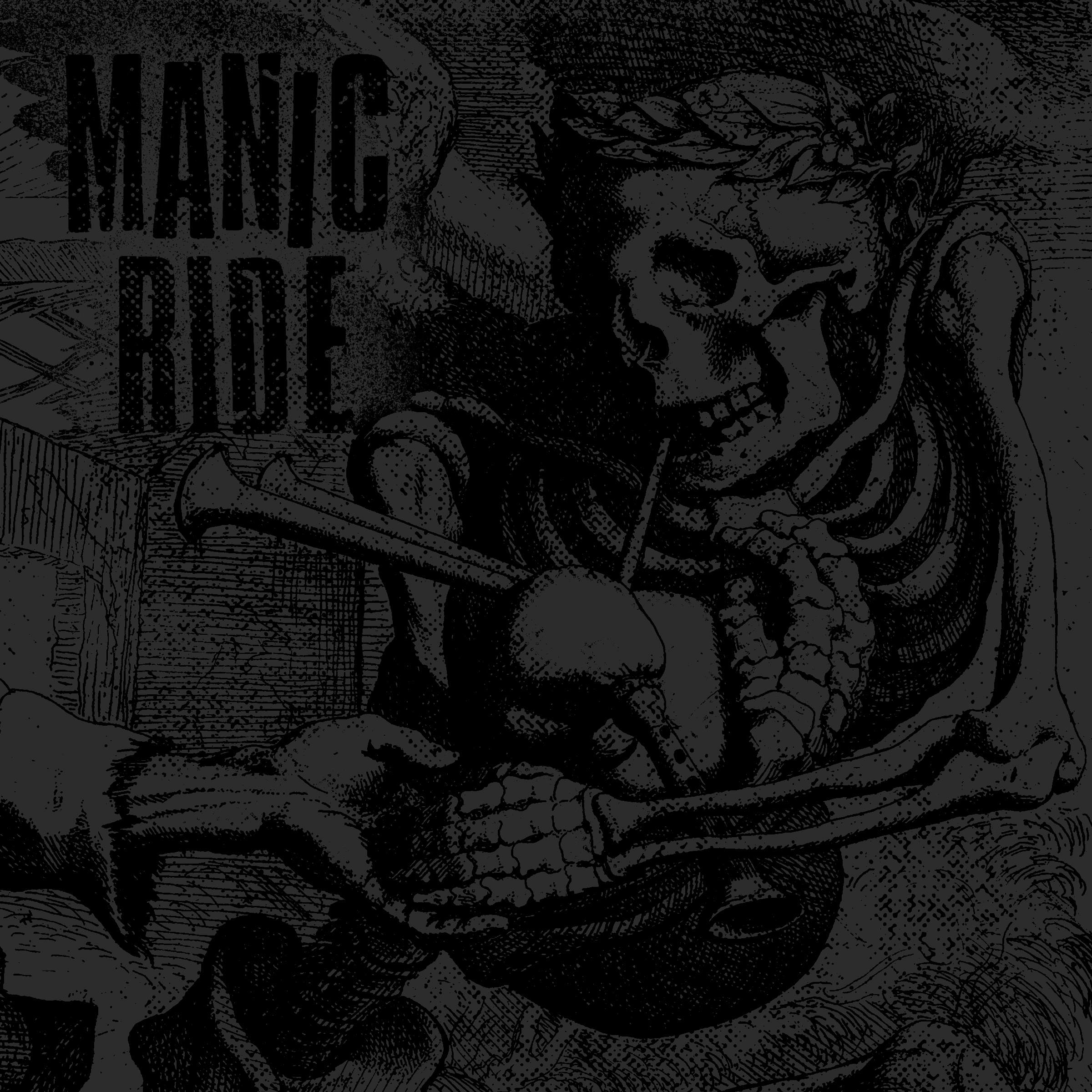 "MANIC RIDE ""Manic Ride"" 7""EP  ltd green"