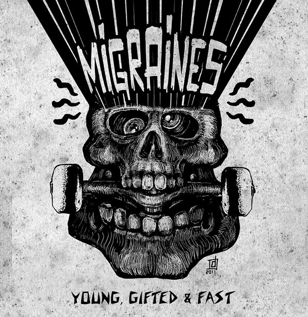 "MIGRAINES ""Young, gifted & fast!"" LP"