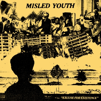 "MISLED YOUTH ""Excuse for existence"" EP  (yellow)"