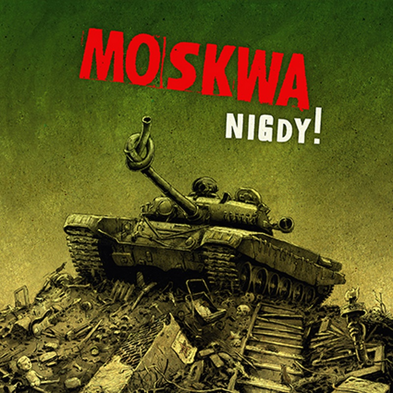 "MOSKWA ""Nigdy!"" LP  (2nd press)"