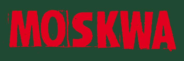 MOSKWA sticker logo 1986