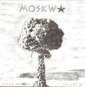 "MOSKWA ""Studio '84"" EP (1st press, ltd. red)"