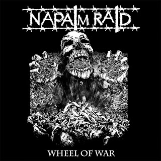 "NAPALM RAID ""Wheel of war\"" LP"