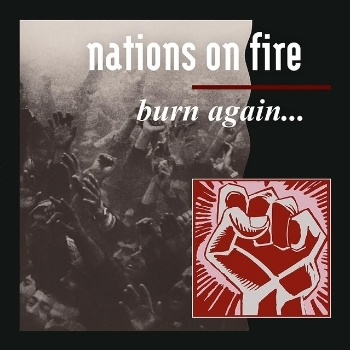 "NATIONS ON FIRE ""Burn again...\"" 12\""  /blue/"