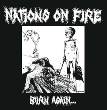 "NATIONS ON FIRE ""Burn again..."" 12""  (ltd. yellow)"