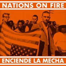 "NATIONS ON FIRE ""Enciende la mecha"" LP  (splatter)"