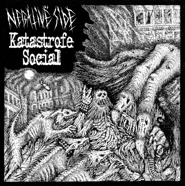 NEGATIVE SIDE/KATASTROFE SOCIAL split EP