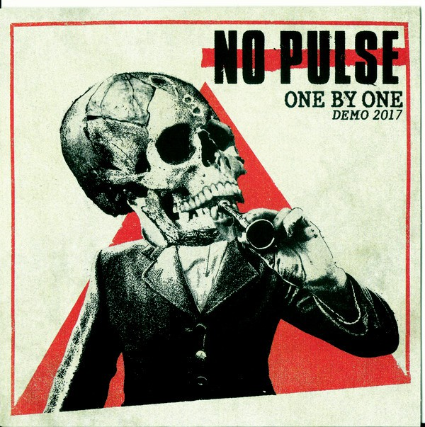 "NO PULSE ""One by one – demo 2017"" EP  (white)"