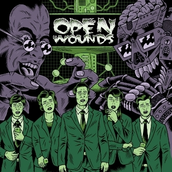 "OPEN WOUNDS ""Open Wounds"" 12""  (green)"