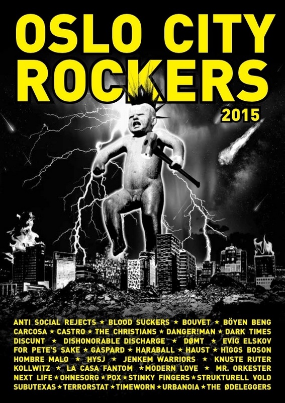 """OSLO CITY ROCKERS"" 2015"
