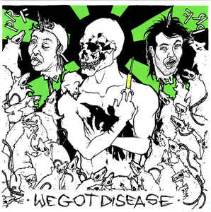 "P.R.F. ""We got disease""  EP"