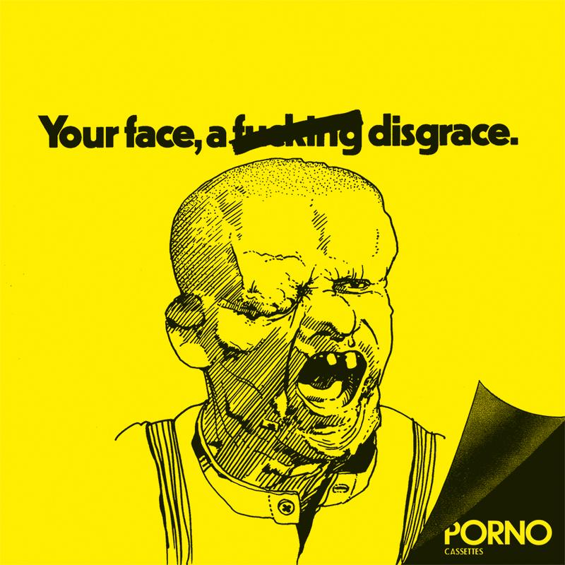 "PORNO CASSETTES ""Your face"" EP"
