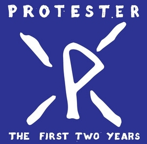 "PROTESTER ""The first two years"" 12""  (black)"