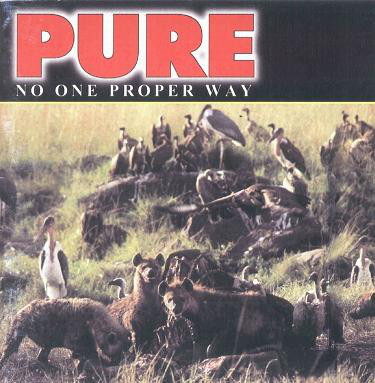 "PURE ""No one proper way"" CD"