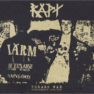 "RAPT ""Thrash war – Discography 1984/1987"" LP+EP+CD"