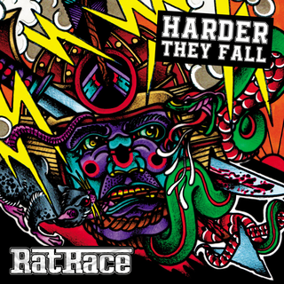 "RATRACE ""Harder they fall"" LP"