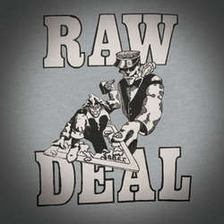 "RAW DEAL ""Demo 88"" LP  (orange)"