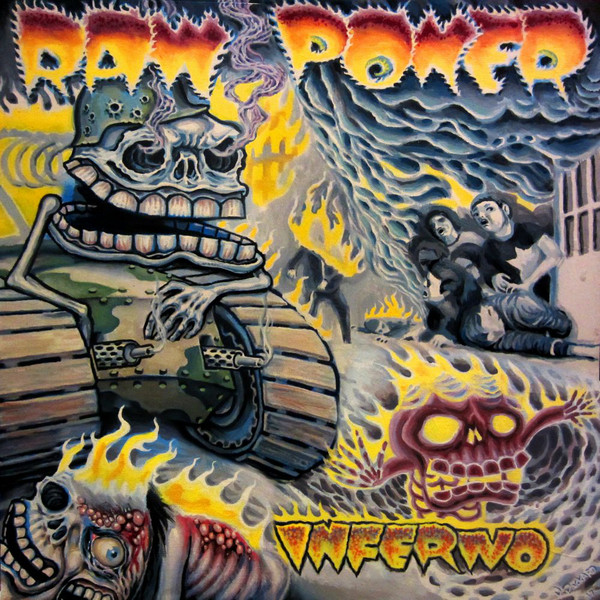 "RAW POWER ""Inferno"" LP"