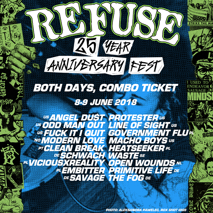 REFUSE 25 ANNIVERSARY FEST - 2 DAY TICKET
