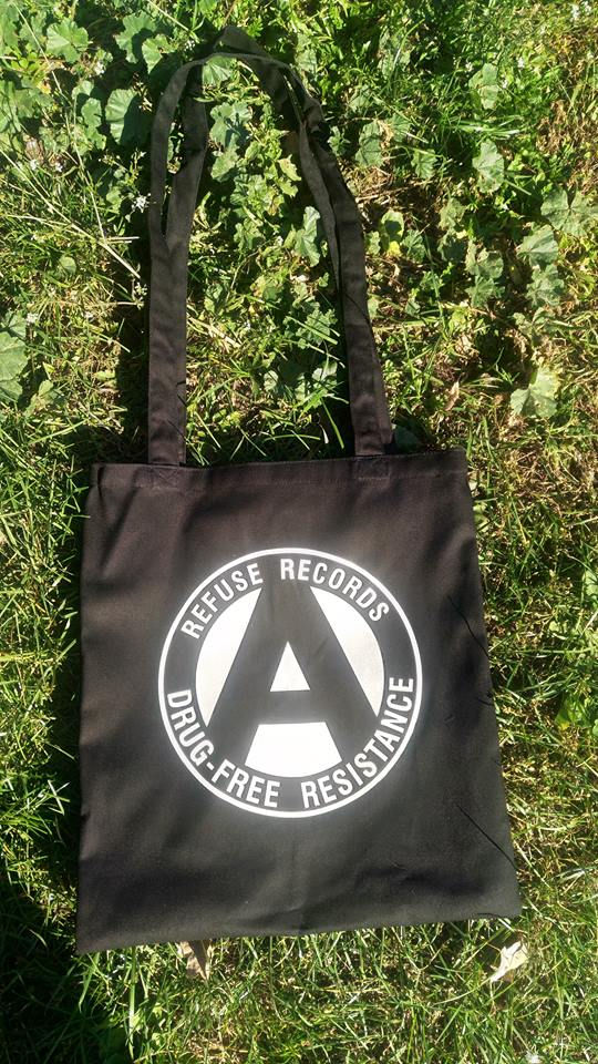 REFUSE RECORDS - DRUG FREE RESISTANCE Bag