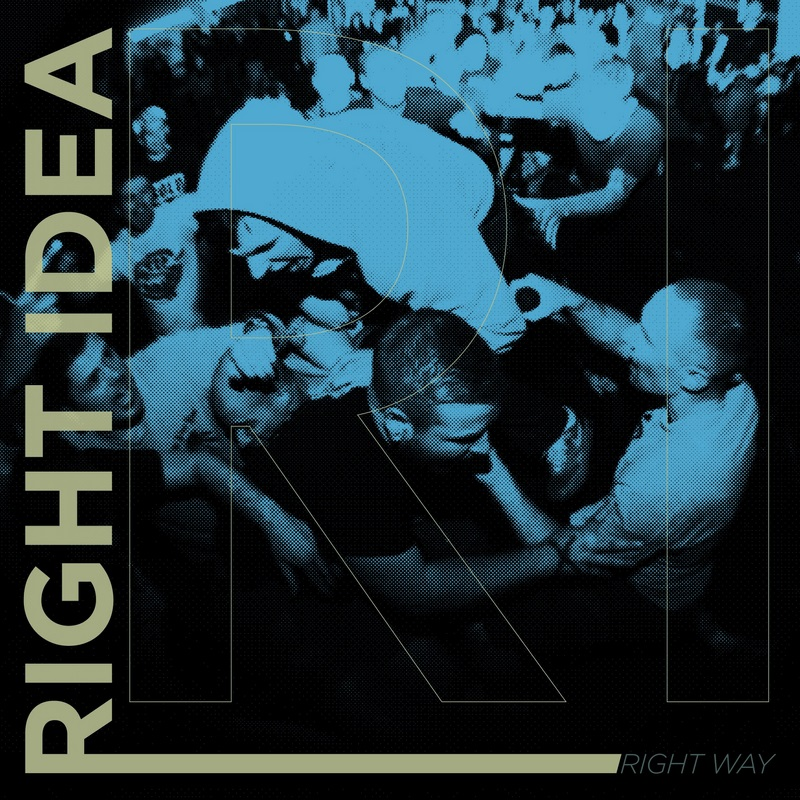 "RIGHT IDEA ""Right way"" EP  (2nd press, black)"