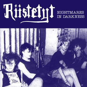 "RIISTETYT ""Nightmares in darkness""  LP"