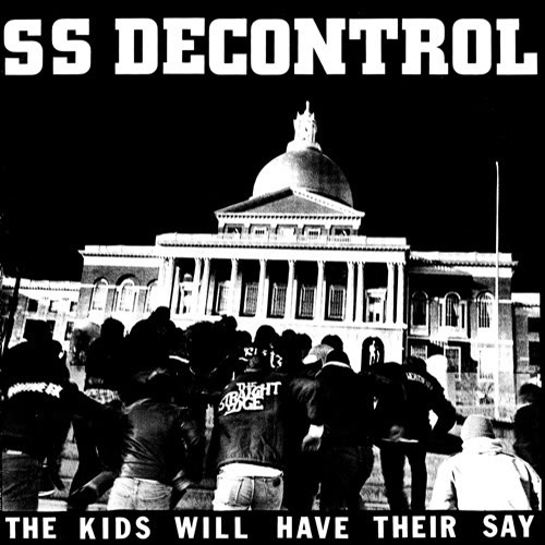 "S.S.D. ""The kids will have their say"" LP"