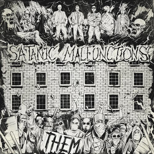 "SATANIC MALFUNCTIONS ""Them"" CD"